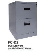 Filling Cabinet 2 Laci Tiger FC D2