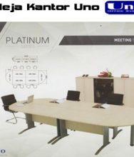 Meja Meeting Set Uno Platinum series