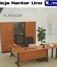 Meja Kerja Kantor Manager Set Uno Platium Series