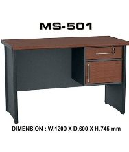 Meja Kantor VIP MS 501 (120cm)