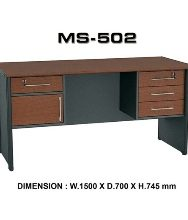 Meja Kantor VIP MS 502 (150cm)