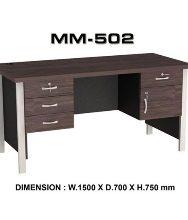 Meja Kantor VIP MM 502 (150cm)
