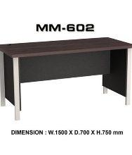 Meja Kantor VIP MM 602 (150cm)