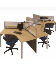 Partisi Kantor Modera 3.1 WS 6 Staff