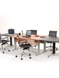 Meja meeting kantor Aditech FM 11